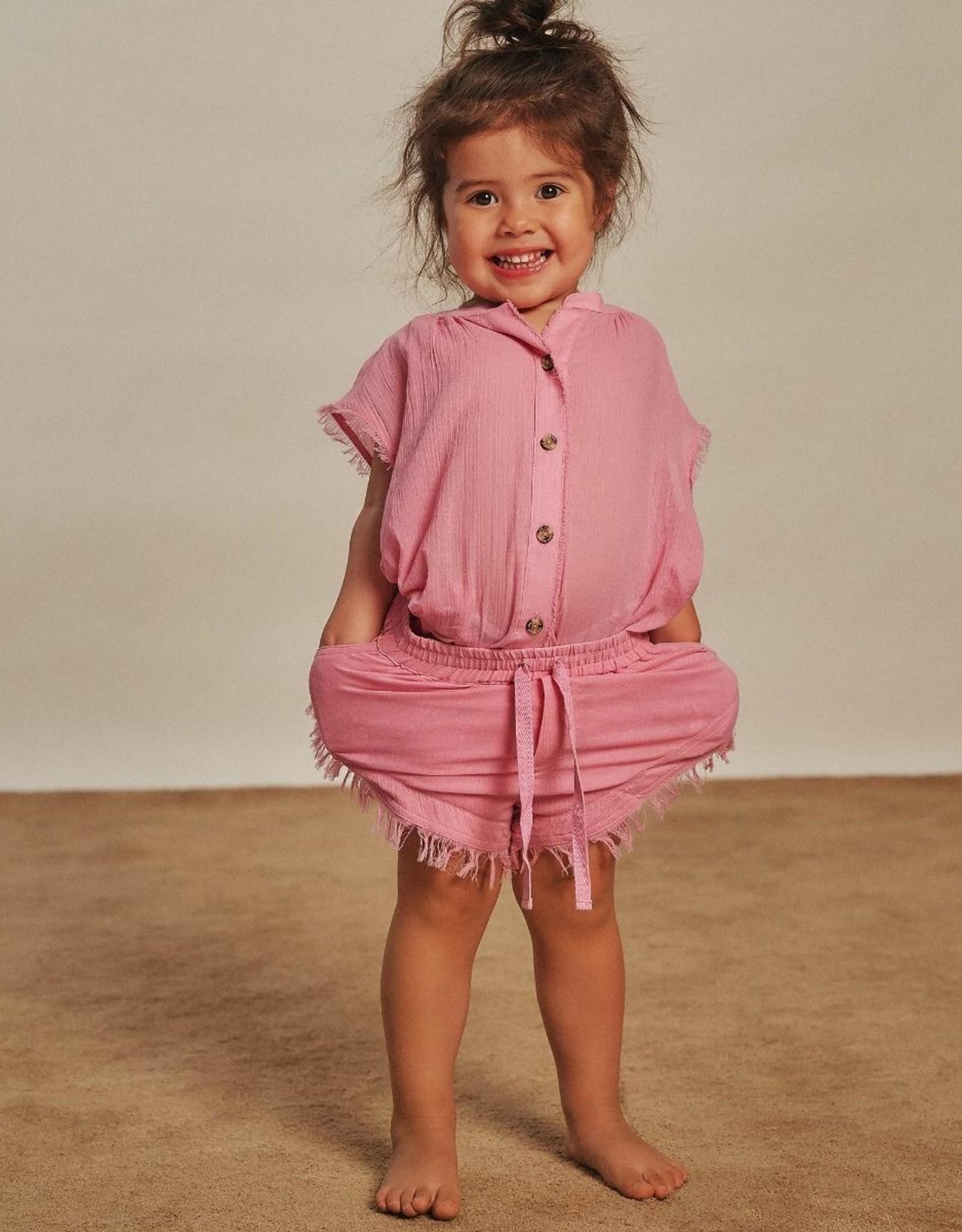 Love Stories Pia Mini Shirt Pink 2 Y