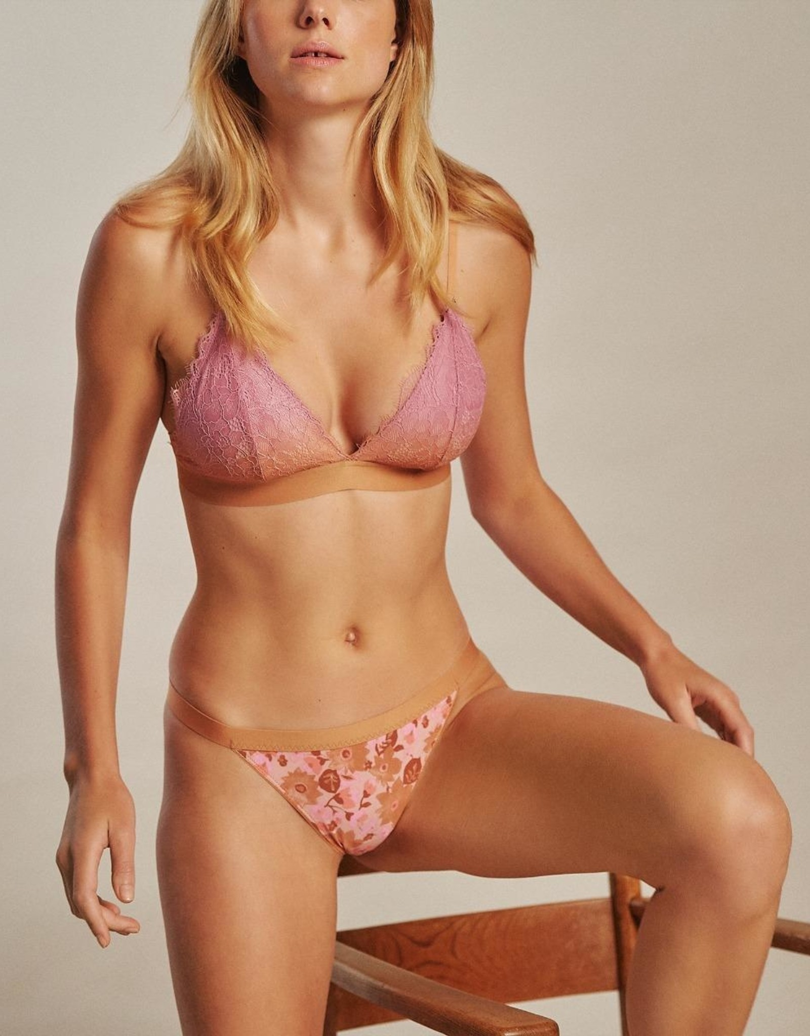 Love Stories Darling Lace Bralette Pink 70 A/B