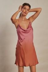 Love Stories Mango Slip Dress Pink S
