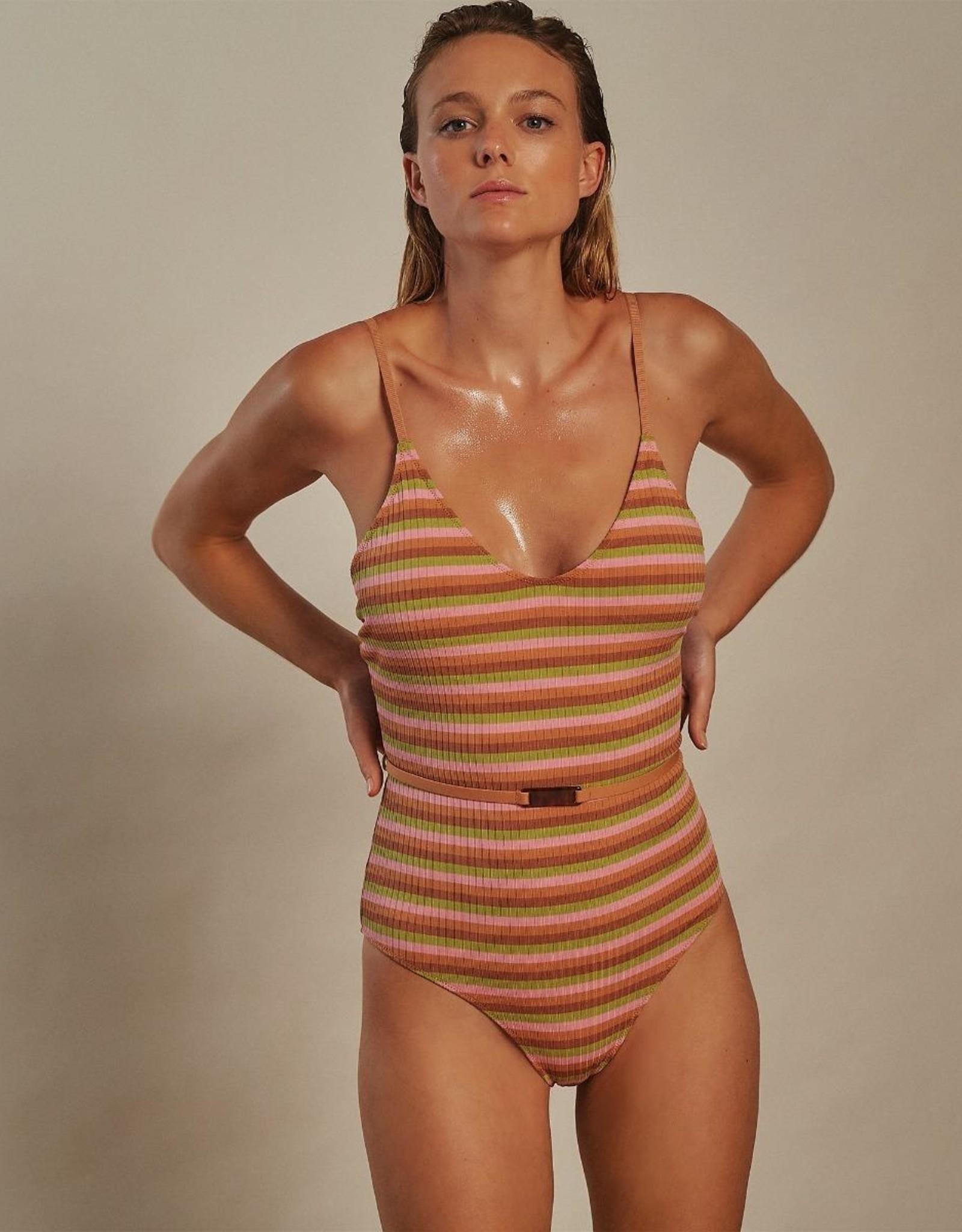 Love Stories Madison Bathing Suit Multi Color S