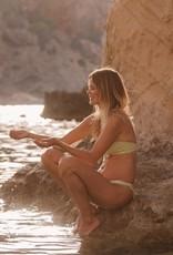 Love Stories Blossom Bikini Top Green 70 A/B