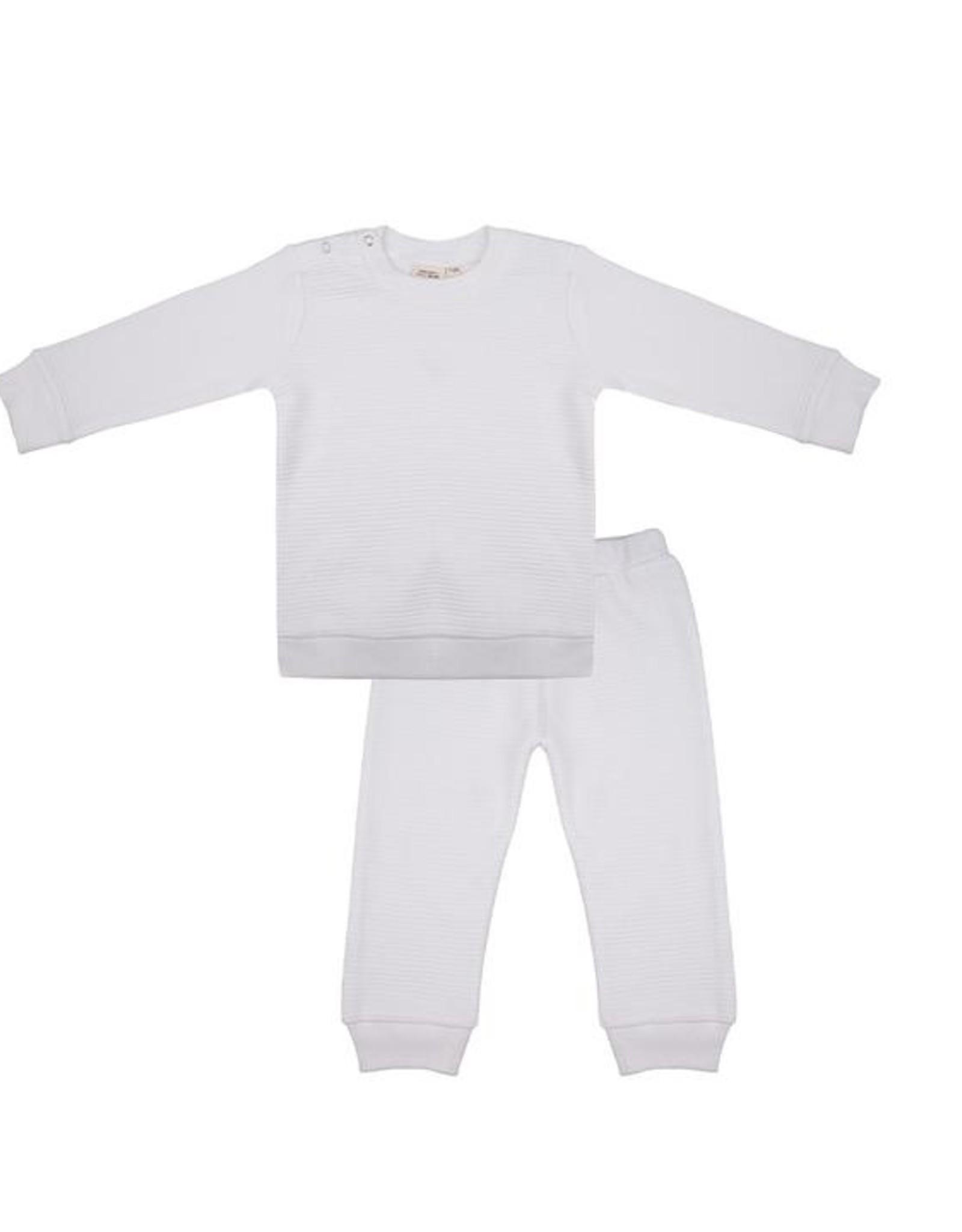 Little Indians Pyjama - Cloud Dancer 0 -3 m