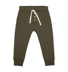 Little Indians Pants - Dark Green 0 - 3 m
