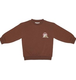 Little Indians Sweater Desert Stories - Pale Red 0 - 3 m