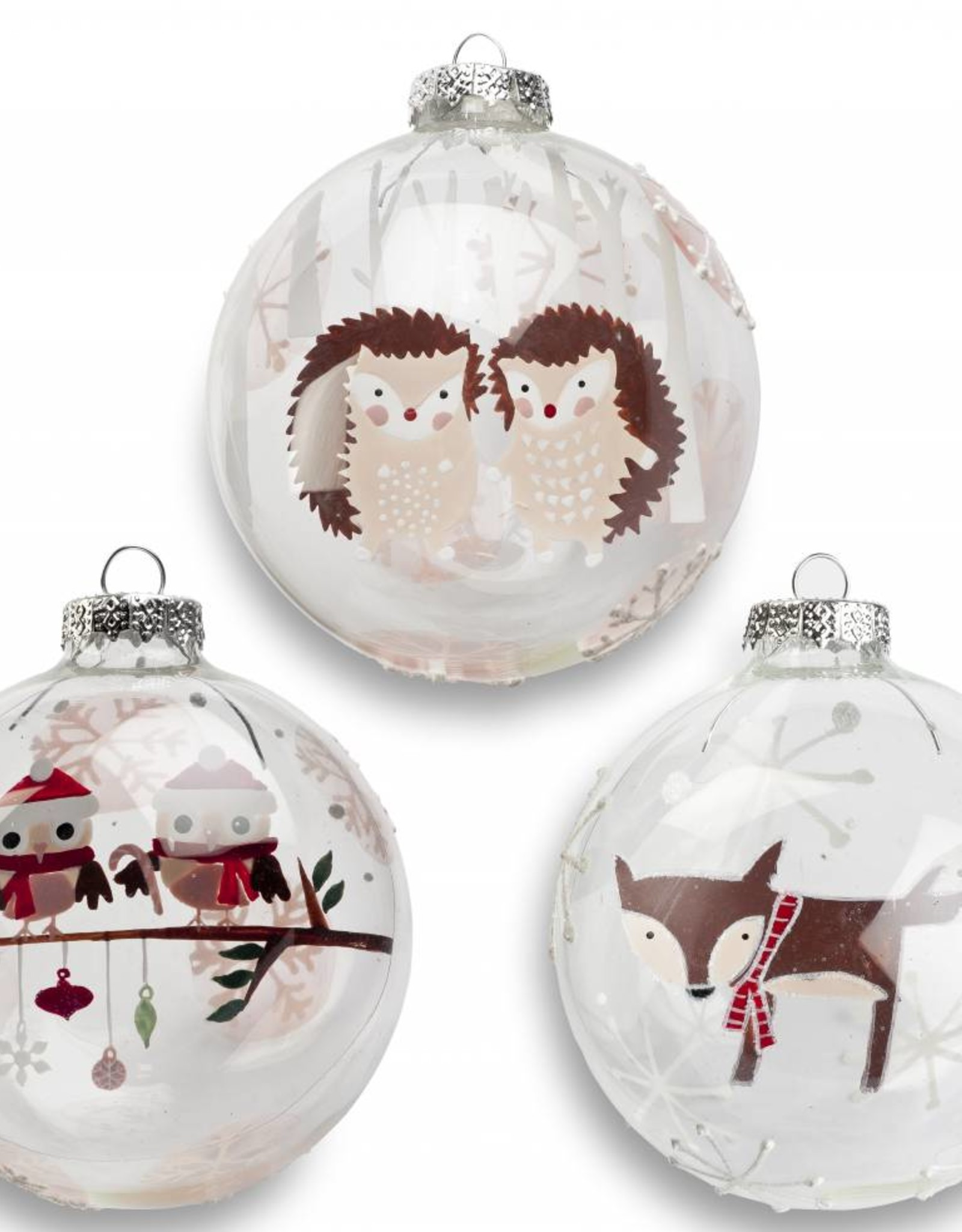 It's About Romi Glass Christmas bulbs