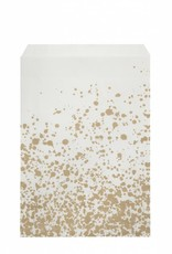 Ferm Living Paper Bags Gold Splash Large