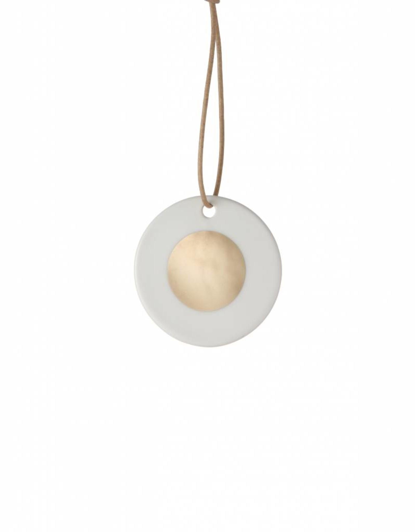 Ferm Living Porcelain Ornament Circle van Ferm Living