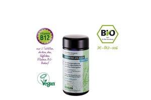 Wilco Green Foods Blaugrüne AFA Algen Bio, 150 Tabletten im Blauglas