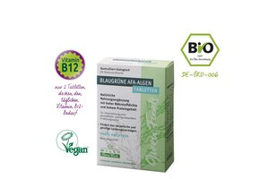 AFA-Algen Tabletten Bio, Wilco Green Foods, 60 Stück im Blister