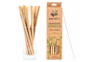 Pandoo Bambus-Strohhalme