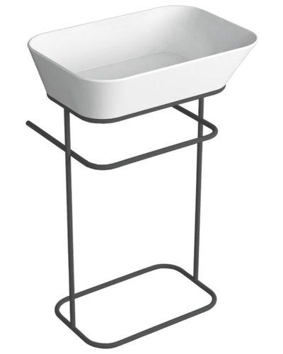 Staand frame voor rechthoekige wastafel
