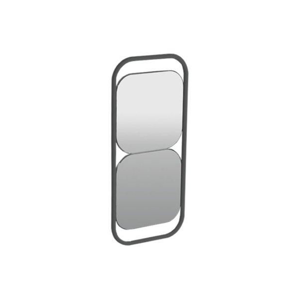 Spiegels vierkant in frame 30 x 70 cm Storm