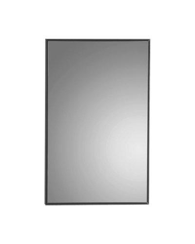 Spiegel met verchroomd metalen frame