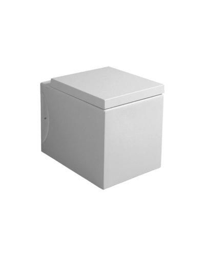 Toilet staand Cube met wand- of vloer afvoer