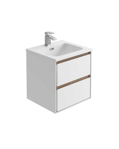 Badkamermeubel  inclusief inbouw wastafel Jacobus
