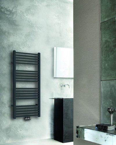 Tower radiator 119x60cm mat zwart