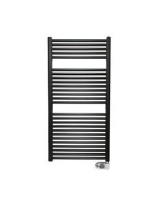 Steel & Brass Elara elektrische radiator 118,5x60cm zwart