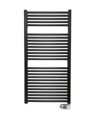 Elara elektrische radiator 118,5x60cm zwart
