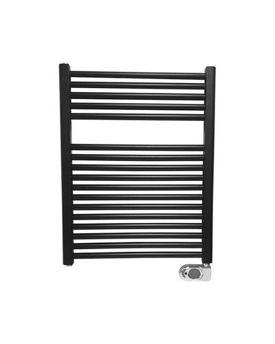 elektrische radiator 76,6x60cm mat zwart