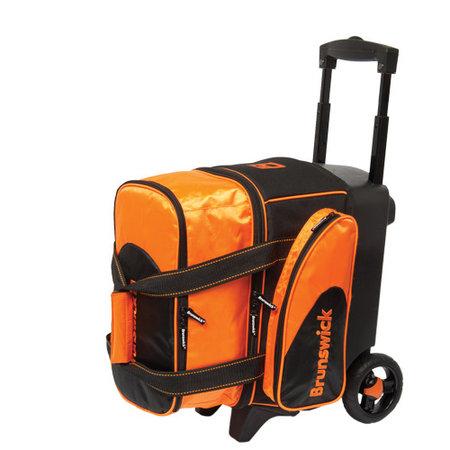 Brunswick Flash C Single Roller Zwart/Oranje