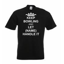 "T-Shirt ""Keep Bowling"""