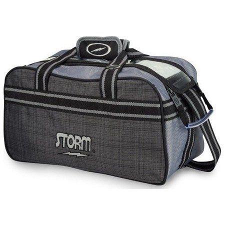Storm 2 Ball Tote Plaid/Grey/Black