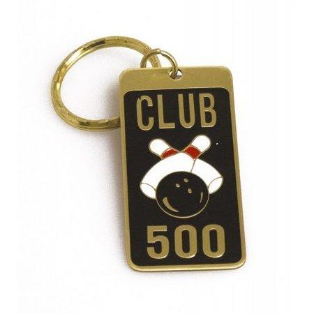 Storm Brass keyring 500 Award