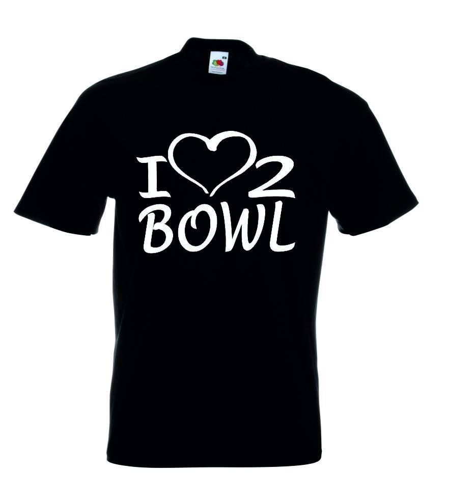 T-Shirt I Love 2 Bowl