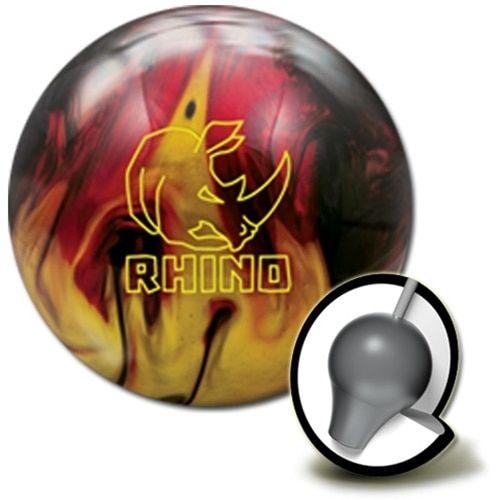 Brunswick Rhino Red/Black/Gold Pearl