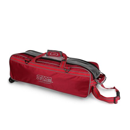 Storm 3 ball Tournament Tote Red