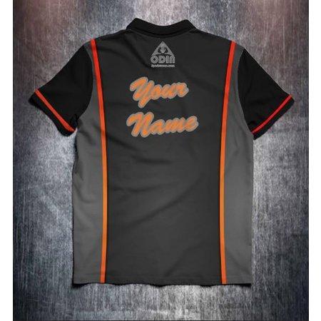 Odin Sportswear Zwart/Oranje