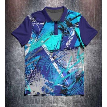 Odin Sportswear Blue grunge