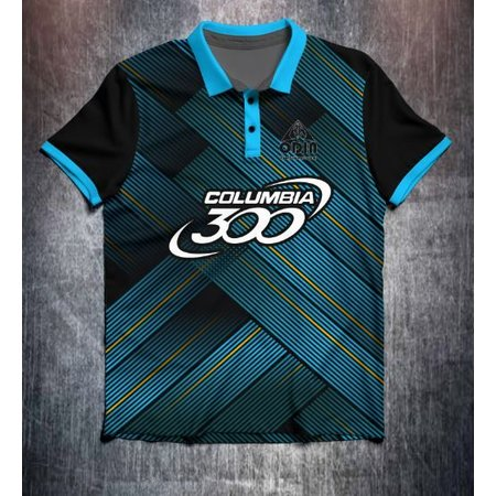 Columbia 300 Blue Abstract