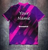 Brunswick Pink Purple grunge