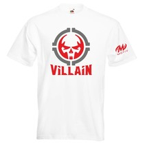 T-Shirt Villain available in 5 colors