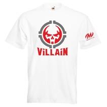 T-Shirt Villain in 5 kleuren verkrijgbaar