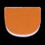Brunswick Leather Heel Orange - Most Slide