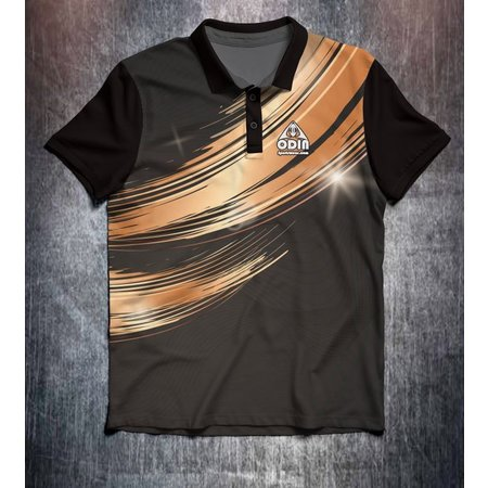 Odin Sportswear Black Gold Wave