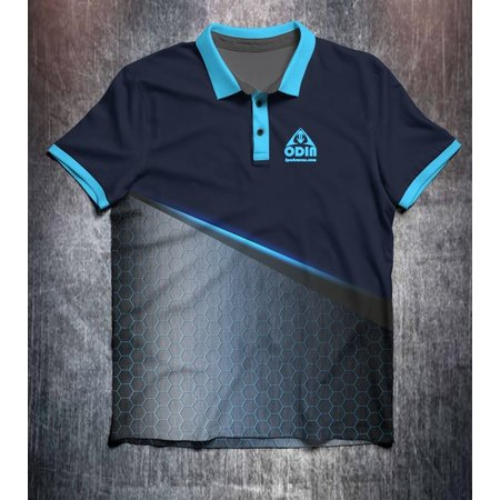 Odin Sportswear Blue Hexagon