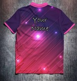 Odin Sportswear Pink Purple Glowing Lines
