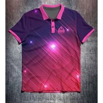 Pink Purple Glowing Lines