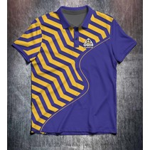 Purple Yellow Zigzag