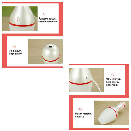 BowlingShopEurope Bowling Pin Humidifier with color changing led light