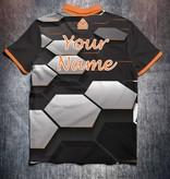 Odin Sportswear Hexagon Grey Black