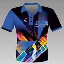 Heren Shirt Speed Blauw