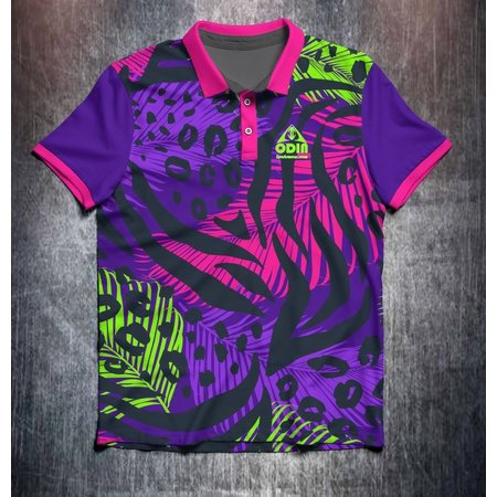 Odin Sportswear Animal Leaf pattern