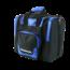 Pro Bowl Single Bag Deluxe Zwart-Blauw