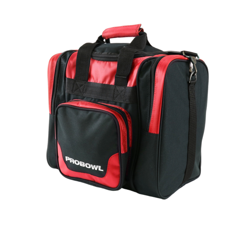 Pro Bowl Single Bag Deluxe Schwarz/Rot