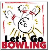 """BowlingShopEurope Bedrukt Tegeltje """"Bowling Art"""""""