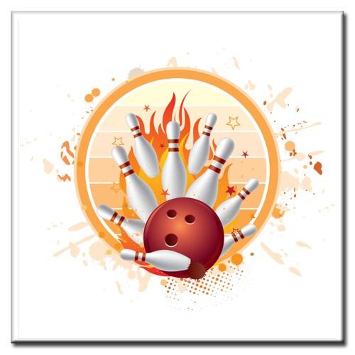 """BowlingShopEurope Fliesen """"Action Fire"""""""